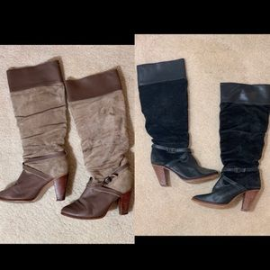 Knee High Boots Size 8 Buy One or Both!